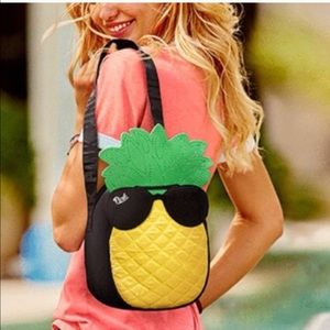Victoria Secret pineapple bag